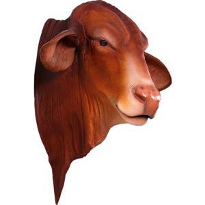 ドラフトマスター雄牛の頭部・壁掛け FRPアニマルオブジェ|frps