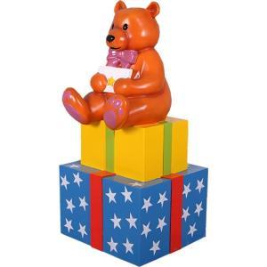 FRPオブジェ 子グマのプレゼントボックス frps