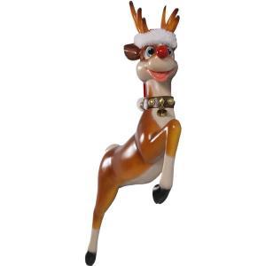 ゆかいな子鹿(壁掛け用)FRPアニマルオブジェ |frps