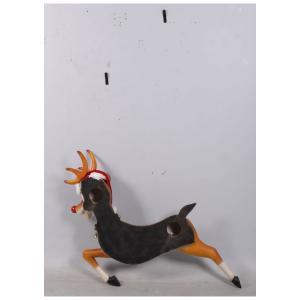 ゆかいな子鹿(壁掛け用)FRPアニマルオブジェ |frps|06