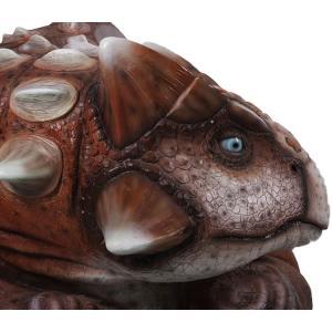 アンキロサウルスベンチ FRP恐竜オブジェ|frps|15