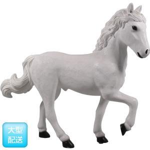 仔馬の白馬 FRPアニマルオブジェ frps 03