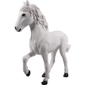 仔馬の白馬 FRPアニマルオブジェ frps 05