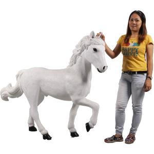 仔馬の白馬 FRPアニマルオブジェ frps 07