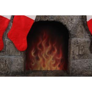 暖炉(靴下ハンガー付き) FRPクリスマスオブジェ|frps|05