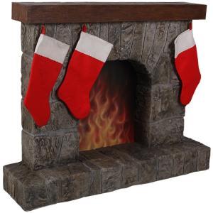 暖炉(靴下ハンガー付き) FRPクリスマスオブジェ|frps|06