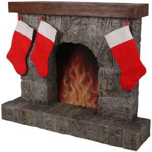 暖炉(靴下ハンガー付き) FRPクリスマスオブジェ|frps|07