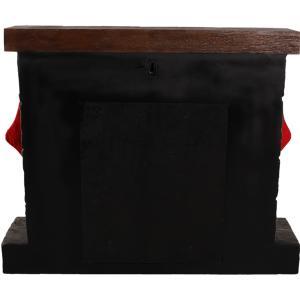 暖炉(靴下ハンガー付き) FRPクリスマスオブジェ|frps|08