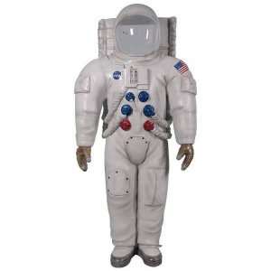 宇宙飛行士・顔だし FRPオブジェ|frps