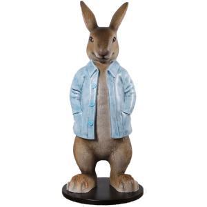 長袖を着たウサギ FRPアニマルオブジェ frps