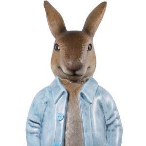 長袖を着たウサギ FRPアニマルオブジェ frps 04