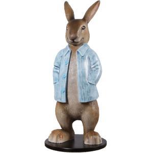 長袖を着たウサギ FRPアニマルオブジェ frps 08