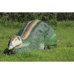 眠るムッタブラサウルス FRP恐竜オブジェ|frps|13