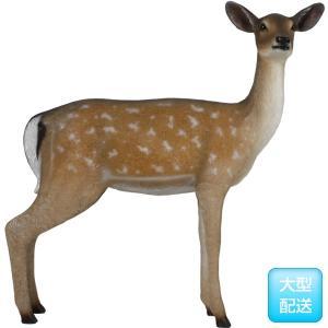 白い尻尾の雌鹿 FRPアニマルオブジェ|frps|03
