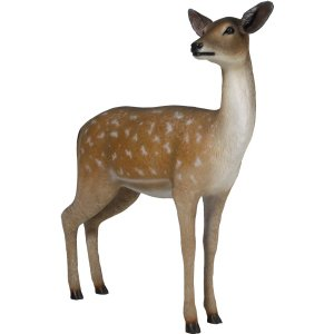 白い尻尾の雌鹿 FRPアニマルオブジェ|frps|05