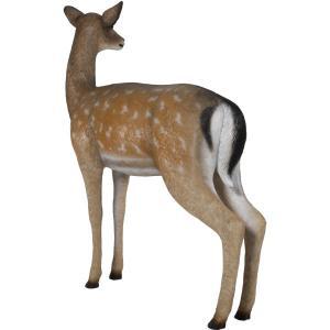 白い尻尾の雌鹿 FRPアニマルオブジェ|frps|08
