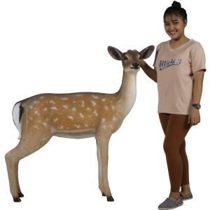 白い尻尾の雌鹿 FRPアニマルオブジェ|frps|10