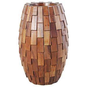 FRPプランター 鼓型プランター(木重柄) Elonga Planter 30x65cm|frps