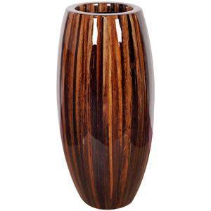 FRPプランター 鼓型プランター(アバカ皮柄) Elonga Planter 47x95cm|frps
