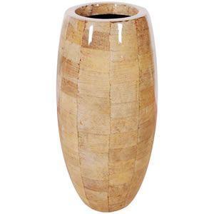 FRPプランター 鼓型プランター(バナナ皮柄) Elonga Planter 47x95cm|frps