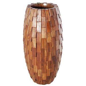 FRPプランター 鼓型プランター(木重柄) Elonga Planter 47x95cm|frps