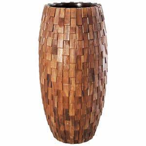 FRPプランター 鼓型プランター(木重柄) Elonga Planter 47x120cm|frps