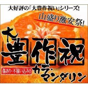 大豊作祝いのカラ・マンダリン3kg【訳あり】|fruit-sunny