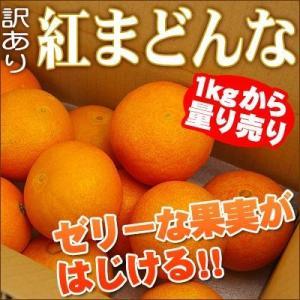 紅まどんな 1kgからの量り売り(家庭用) 愛媛県産 ゼリー食感|fruit-sunny
