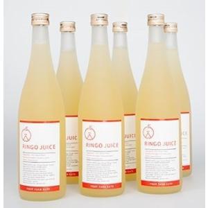【送料無料】樹上完熟 ストレート天然果汁100% 吟壌ふじりんごジュース 6本セット ふくしまプライド。体感キャンペーン(お酒/飲料) fruitfarmkato