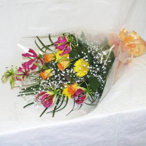 花束 贈答用 メッセージカード付 (HT030_50)|fs-hanatomo