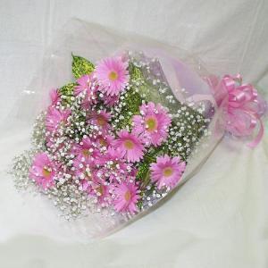 ピンク系 花束 贈答用 メッセージカード付 (HT033_50)|fs-hanatomo