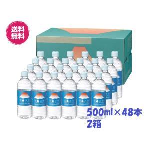 送料無料 富士山のバナジウム天然水[500ml×48本 24本×2ケース]ミツウロコ