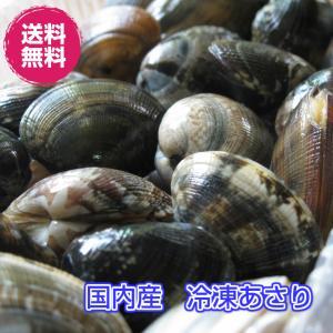 国産 殻付き冷凍あさり 500g(冷凍あさり 500g) 送料無料 砂抜き 冷凍 fs-yokohama