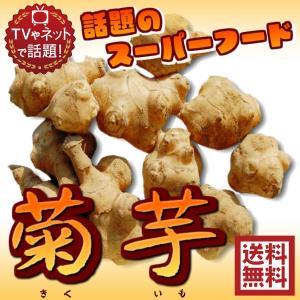 無農薬栽培(国産 菊芋 約3kg 常温)洗浄済み 送料無料サイズ込 イヌリン 菊芋 きくいも キクイモ 青果
