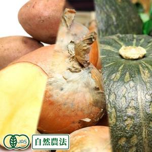 かぼちゃ・じゃがいも・玉ねぎセット約10kg 有機JAS (北海道 はるか農園) 自然農法 産地直送|fs21