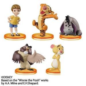 ディズニーキャラクターズ ワールドコレクタブルフィギュアstory.03 「くまのプーさん」 全5種セット fs4869