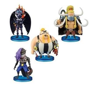 【2月予約】 ワンピース ワールドコレクタブルフィギュア 百獣海賊団1 4種セット