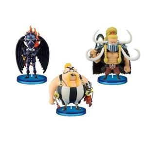 【2月予約】 ワンピース ワールドコレクタブルフィギュア 百獣海賊団1 3種セット