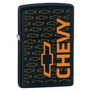 【並行輸入品】Zippo Limited Chevy Black Matte Zippo Light...