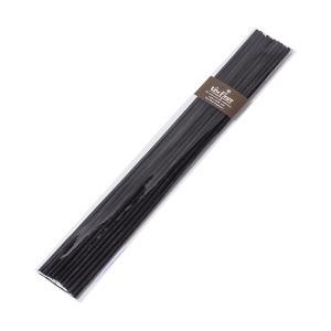 UF スティックブラック 10本入り 25cm|fsmile