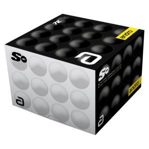 アンドロ(andro)卓球トレーニングボール(ホワイト)40mm「ANDRO POLY S(アンドロポリエス)」(72個入)162230 fst
