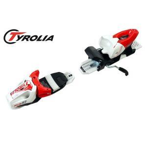 19チロリア(TYROLIA)スキー金具・ビンディング「SLR10」(ホワイト×レッド)