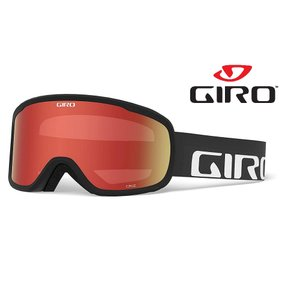 21GIRO(ジロ) スキー スノーボード ゴーグル 「CRUZ AF」(眼鏡使用可・くもり止め加工) アジアンフィット BK WORDMARKS(7083329)|fst