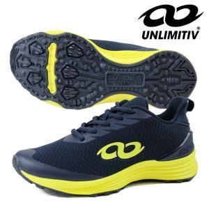 UNLIMITIV アンリミティブ ジュニア レディース スポーツシューズ「UNLIMITIV S-LINE/ネイビー」2507491 fst