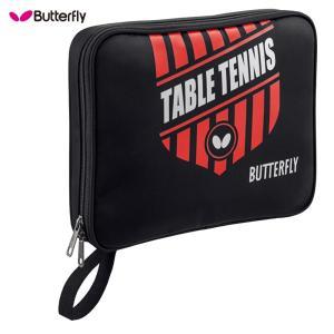 BUTTERFLY バタフライ 卓球ラケット 収納バック 「エンブレムケース/レッド」63150 fst