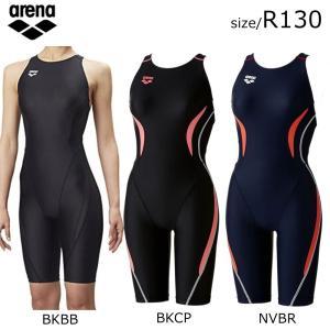 【郵便受けへお届け送料無料】アリーナ arena ジュニア ハーフスパッツ 競泳用 水着 ARN-7055WJ|fst