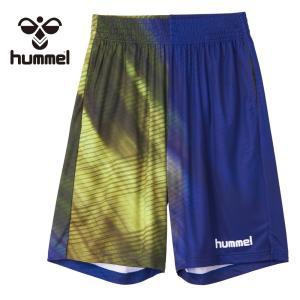 【郵便受けへお届け送料無料】hummel ヒュンメル メンズ ハーフパンツ「バスケット プラクティスパンツ」HAPB6029 fst