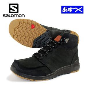 SALOMON(サロモン)メンズアウトドア・ウィンターシューズ「UTILITY/ブラック」L36642500 fst