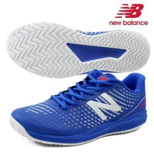 【35%OFF】newbalance ニューバランス メンズ オールコート用 テニスシューズ/width2E BLUE MCH796C2 fst