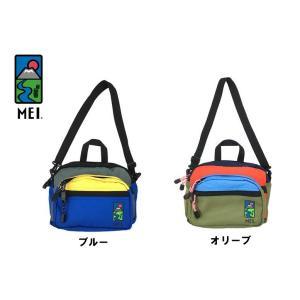 MEI(メイ) ボディバッグ「PANEL RAMBLE SHEET2」MEI181118|fst